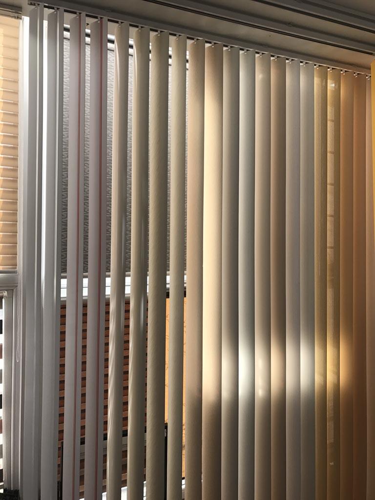Jaluzele verticale PVC | Hamat